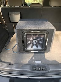 "Kicker 12"" L7 Sub and KX 800.1 Amp! Springfield, 22153"