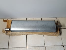 New muffler-53 kaiser manhattan