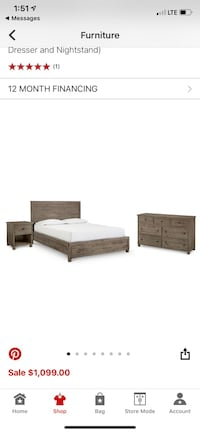 Queen size bedroom set Waxhaw, 28173