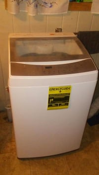 white and gray apartment size washing machine  Warwick, 02886