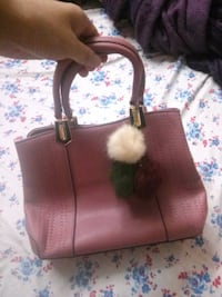 brown and white leather tote bag New Delhi, 110067
