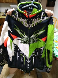 2014 Arctic Cat Snow Pro Jacket Signed by Tucker H Newport