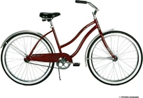 "26"" Burgandy good vibrations woman's cruiser. New still in the box."