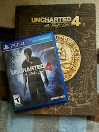 Uncharted 4 with Strategy Guide Book West Chicago, 60185