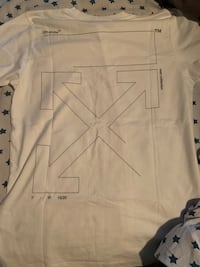 Off-white 2020 white unfinished shirt Vaughan, L4H 2C5