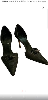 Black Genuine Gucci Pumps,  slightly used  Fairfax, 22033