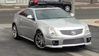 2011 Cadillac CTS Coupe Silver Downey, 90240