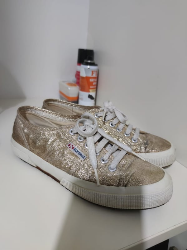 GOLD SUPERGA 1