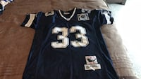 blue and white NFL jersey Linganore, 21754