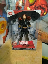 Black widow from marvel action figure box Staten Island, 10302