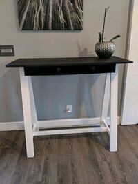 Tall Console Table w/ Chalk Paint Surface Vacaville