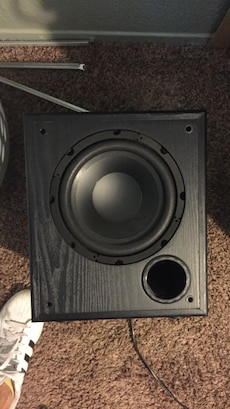 Sub with built in amp, I need it gone ASAP