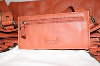 Tignanello orange leather purse with matching wallet. Foster City, 94404