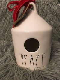 Rae Dunn PEACE birdhouse  St. Catharines