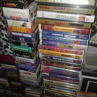 Vhs Disney movies over 100 different  Gatineau, J8Z 1T7