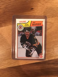 1983 Ray Bourque Hockey Card Calgary, T2M 2P3