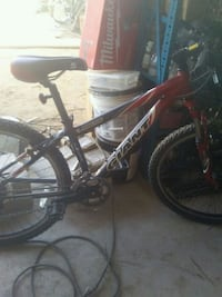 red and black full-suspension bike Fresno, 93728