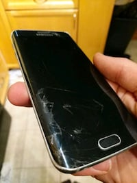 black Samsung Galaxy Android smartphone Airdrie, T4B