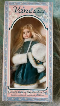 18 inch Porcelain Doll Collections