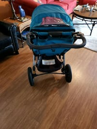 blue and black jogging stroller Sebastian, 32958