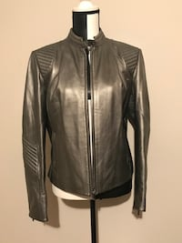 Grey Danier Motorcycle Jacket (Medium) Milton, L9T 4K1