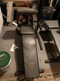 Weight lifting bench with Preacher Curl Ewing Township
