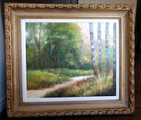Brand New,hand painted oil painting Richmond Hill, L4C