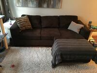 Nice comfy sectional no marks or stains
