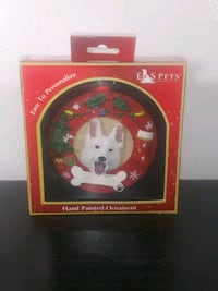 Hand Painted German Shepard Christmas Ornament by E & S Pets - $10 OBO Milwaukee