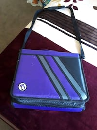 purple and white leather crossbody bag San Diego, 92111