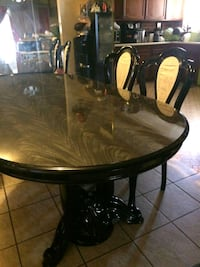 oval brown wooden dining table Las Vegas, 89142