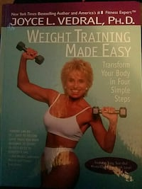 Weight Training Made Easy book by Joyce L. Verdral Myersville, 21773