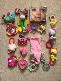 Collection of baby girl toys Woodstock, 21163