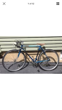 """Tall Men's Vintage Raleigh road racing bike Bicycle frame for 5'7"""" up"""