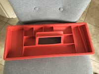 TOOL BOX INSIDE TRAY NEW CONDITION  Montréal, H9K 1S7