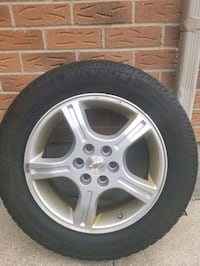 All season tires with rims for 600.00 or best offer . Mississauga, L5C 3W2