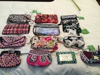Vera Bradley wallets, change purses, etc. NEW Woodbridge, 22192