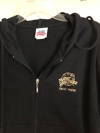 Planet Hollywood New York zip up hoody San Leandro, 94579
