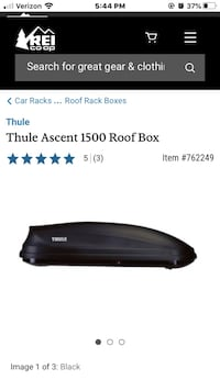 Thule Ascent 1500 (lightly used) Alexandria, 22314