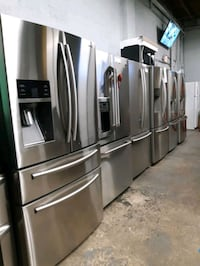 $499.00 & UP STAINLESS STEEL FRENCH DOORS FRIDGES WORKING PERFECTLY  Baltimore, 21223