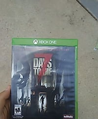 Xbox One Days To Die 7 case Colorado Springs, 80916
