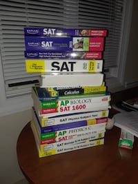 SAT I, II and AP Practice Books 29 km