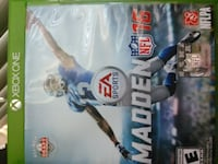 Madden NFL 16 Xbox One game case null