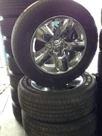 """! Just in ! Beautiful 20"""" Dodge Ram Package with TPMS sensors Toronto, M1P 2B3"""