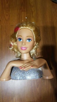Barbie hair and nails Hamilton