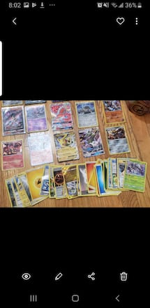 Authentic rare pokemon Cards