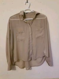 Nude button-up blouse Greater London, N1 6BY