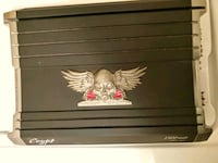 black and gray Crypt 1500-watts power amplifier Fort Lauderdale, 33313