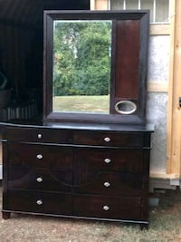 Dresser with mirror  Grover, 28073