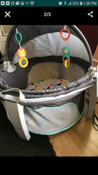 baby's gray and green bouncer Antioch, 94509